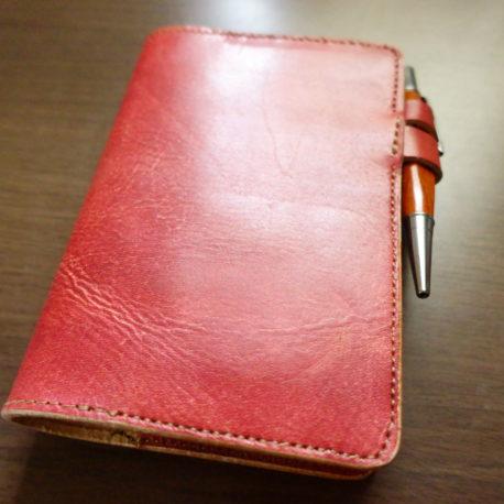 毎日手帳やA6サイズのノートにぴったりのカバー